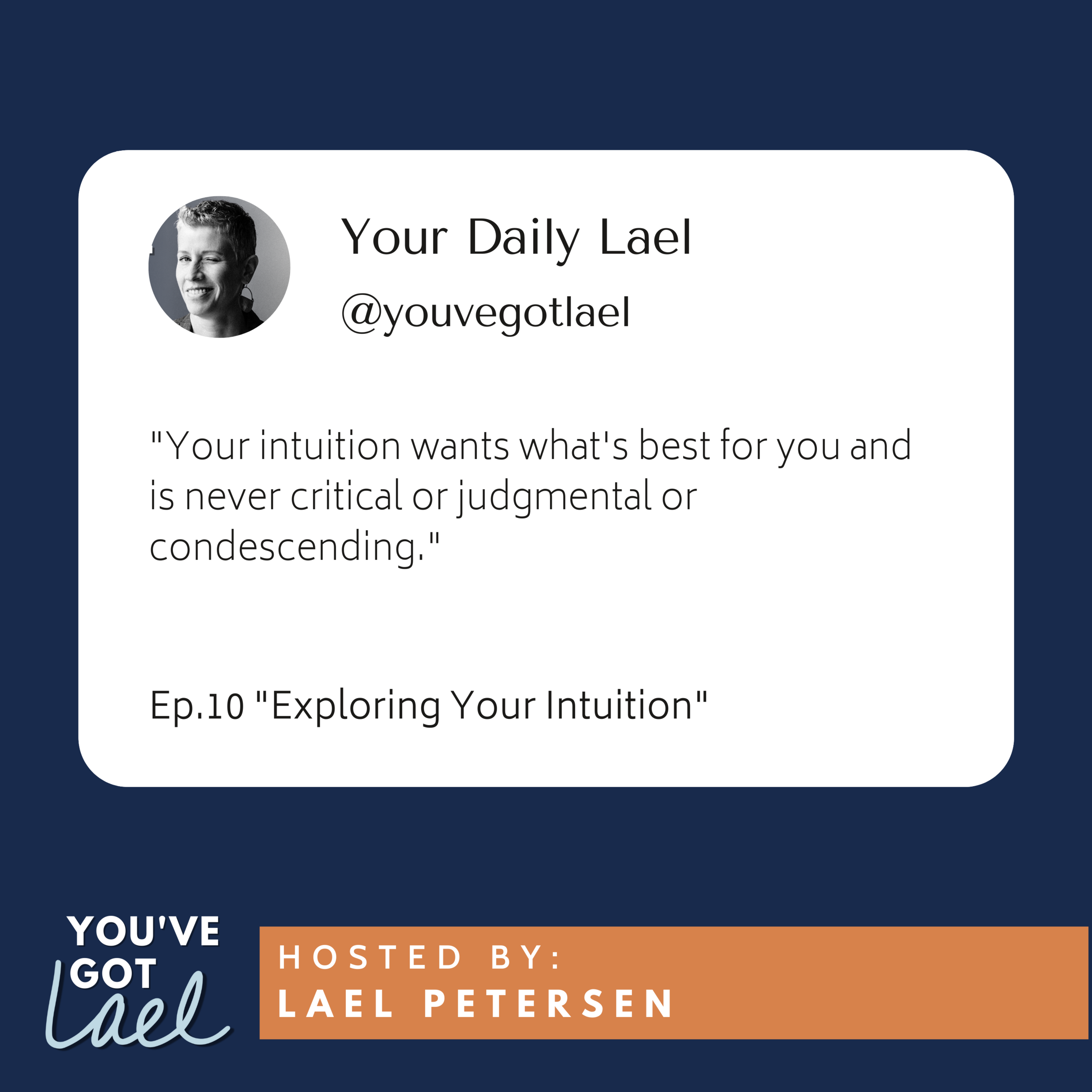Episode 10: Exploring Your Intuition