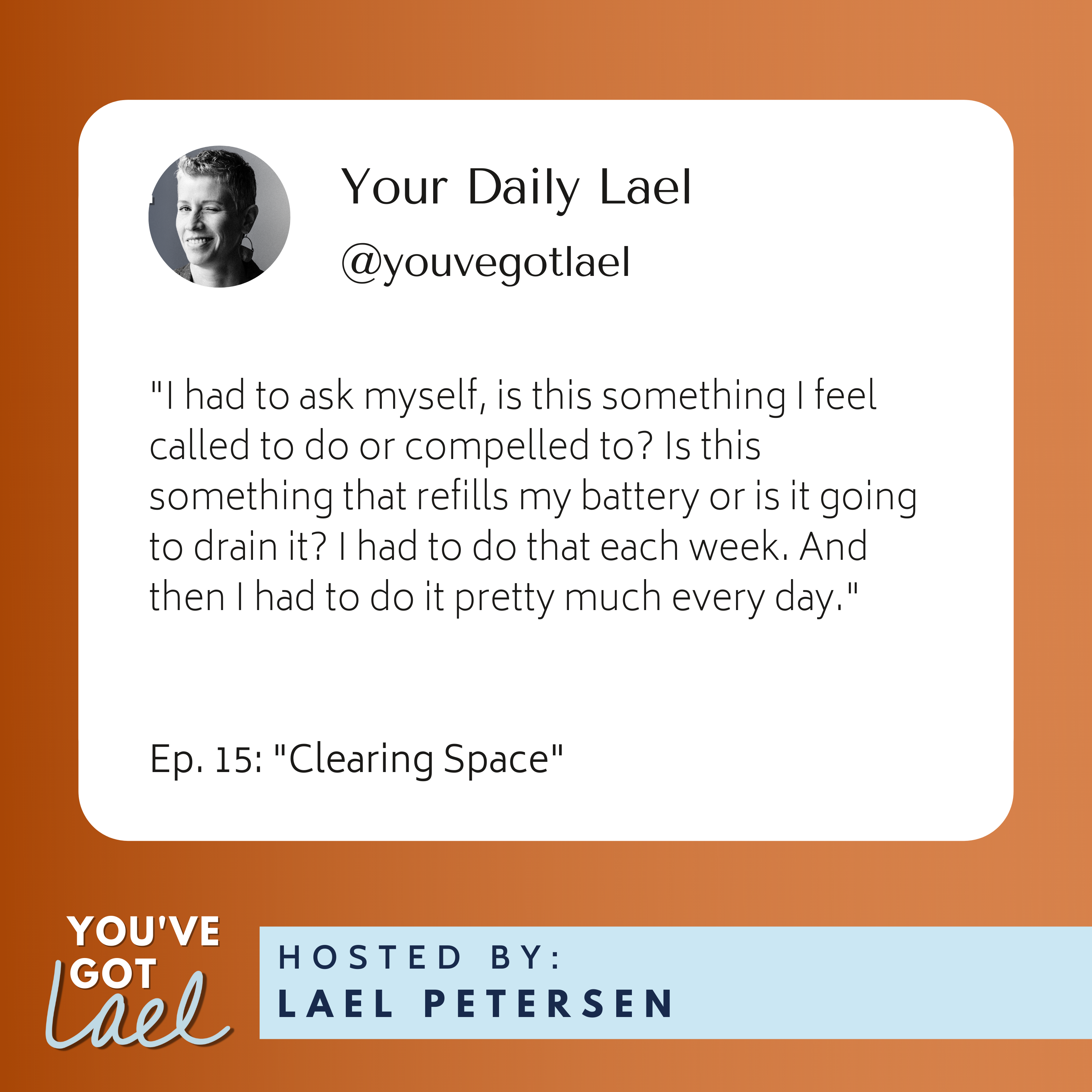 You've Got Lael